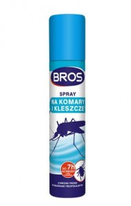 BROS SPRAY NA KOMARY I KLESZCZE 90ML